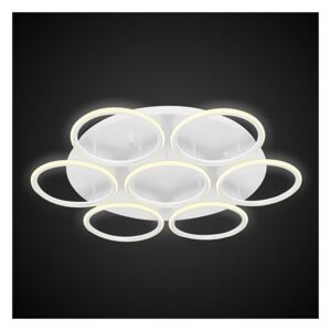 Lampa sufitowa Ledowe Okręgi 7 white LA078/CE_7_out_3k_white ALTAVOLA DESIGN LA078/CE_7_out_3k_white
