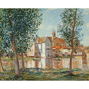 Alfred Sisley - Reprodukcja The Loing at Moret September Morning