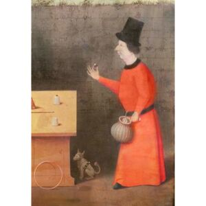 Hieronymus Bosch - Reprodukcja The Conjuror detail oil on panel