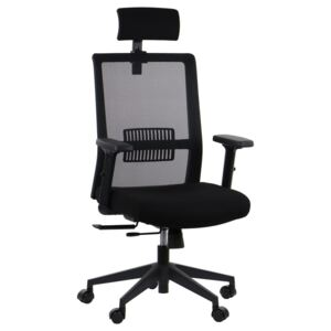 Fotel Obrotowy XR TOWER MH Black