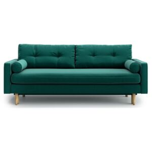 Sofa Esme z funkcją spania, Bottle Green