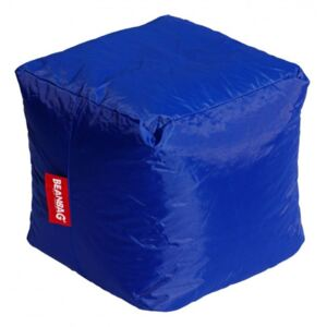 BeanBag Pufa do siedzenia Cube dark blue
