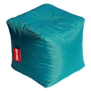 BeanBag Pufa do siedzenia Cube sea green