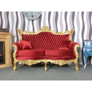 (2396) Stylowa sofa EDLE GOLD Castle