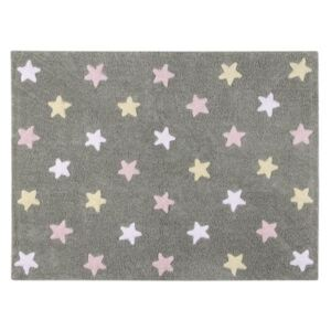 Dywan Stars Grey Pink 160x120 cm, LORENA CANALS
