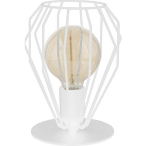 TK Lighting Lampa stołowa Brylant White