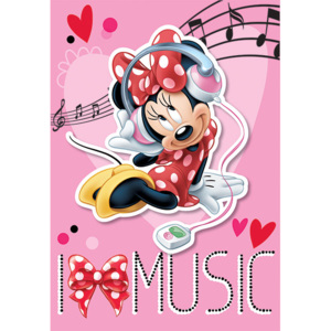 Dywan Disney Kids I love Minnie 07, Druk Cyfrowy