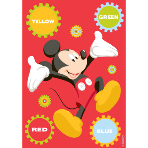 Dywan Disney Kids Mickey Colors 86195, Druk Cyfrowy