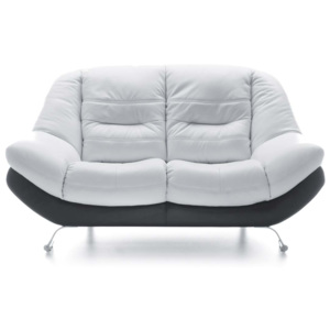 Sofa 2 osobowa Mello White & Black