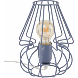 TK Lighting Lampka Biurkowa Picolo Blue
