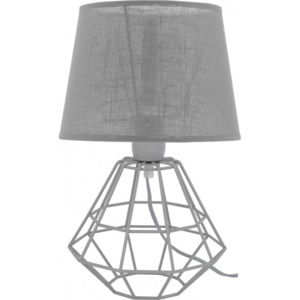 TK Lighting Lampa stołowa Diamond Gray
