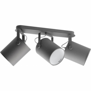 TK Lighting Lampa Sufitowa Relax Gray II 3pł