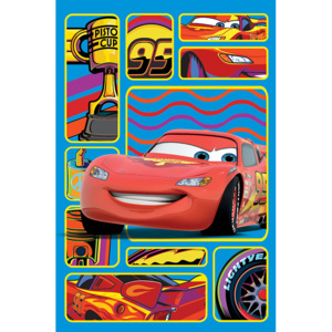 Dywan Disney Kids Cars Red 027, Druk Cyfrowy