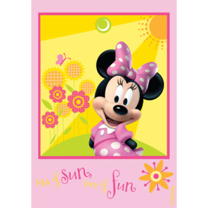 Dywan Disney Kids Club House Minnie 22, Druk Cyfrowy