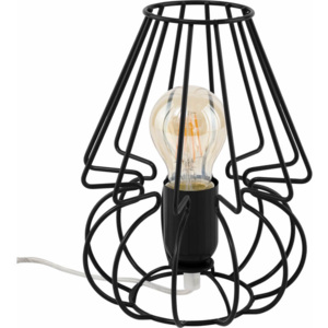 TK Lighting Lampka Biurkowa Picolo Black