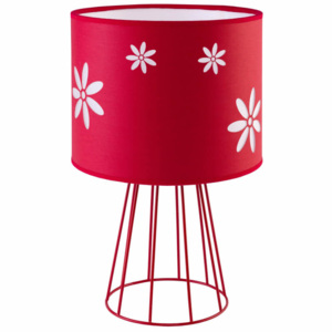 TK Lighting Lampa biurkowa Flora Red