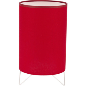 TK Lighting Lampka Nocna Relax Color Red