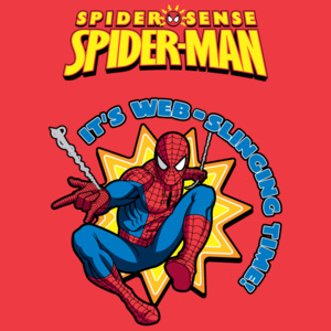 Dywan Disney Kids Spider-Man Red 952, Druk Cyfrowy