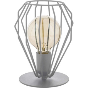 TK Lighting Lampa stołowa Brylant Gray