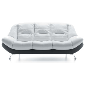 Sofa 3 osobowa Mello White & Black
