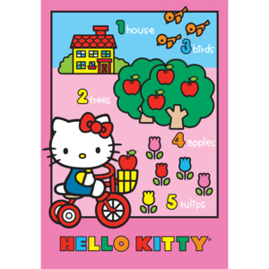 Dywan Disney Kids Hello Kitty 752, Druk Cyfrowy