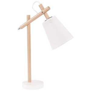 TK Lighting Lampa Biurkowa Vaio White