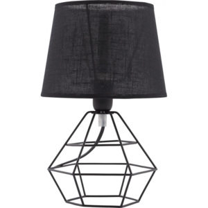 TK Lighting Lampa stołowa Diamond Black