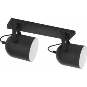 TK Lighting Listwa Sufitowa Spectra Black 2pł